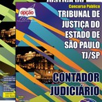 Apostila CONTADOR JUDICIÁRIO - Concurso Tribunal de Justiça do Estado / SP (TJ/SP) 2015
