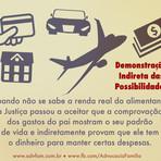 Pensão Alimentícia do Autônomo e a Demonstração Indireta das Possibilidades.