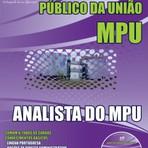 Apostila ANALISTA DO MPU 2015 - Concurso Ministério Público da União