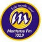 Rádio Montense FM 102,9 ao vivo e online Santo Antônio do Monte MG