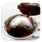Bolo de Caneca de Chocolate em 3 Minutos