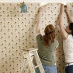 Papel de parede e tecido adesivo as novas tendência de decoração
