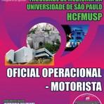 Apostila OFICIAL OPERACIONAL ? MOTORISTA - Concurso Hospital das Clínicas de São Paulo (HCFMUSP) 2015