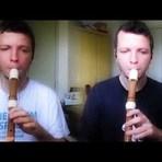 Notas para flauta doce: No rancho Fundo