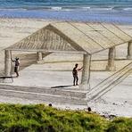 Arte 3D em Praia!