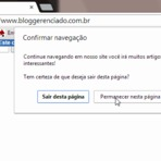Como exibir mensagem de alerta no navegador ao fechar a página