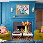 Casa, Decoração Que cores ficam bem com o azul?
