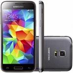 Samsung Galaxy S5 Mini Duos G800H Preto - Celular Smartphone - Dual Chip -  mega promoção R$ 979,02