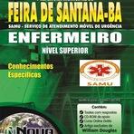 Apostila SAMU de FEIRA DE SANTANA 2015 (COMPLETA) Grátis CD