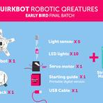 Projeto Quirckbot desenvolve robôs programáveis para crianças.