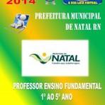 Apostila Concurso Publico Prefeitura de Natal RN Professor Ensino Fundamental 2015 - Apostilas So Concursos