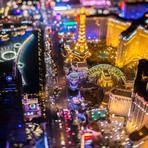 Cidade de Las Vegas vira uma placa-mãe gigante em fotos incríveis