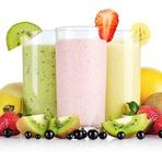 Smoothies de frutas e vegetais para perder peso