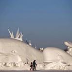 Turismo - Surpreendentes esculturas de gelo