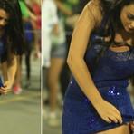 Flagras do Carnaval 2015 - Rebeka Francys, a Miss Bumbum Evangélica, mostra o samba no pé com microvestido