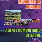 Apostila Digital Concurso Prefeitura Municipal de Joinville Santa Catarina SC 2015 - Agente Comunitário de Saúde