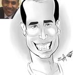Pintura - Caricatura Digital - Primeiro Cliente