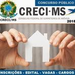 Inscrições Concurso CRECI (MS) da 14ª Região - Edital 2015