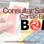 CONSULTAR SALDO ONLINE CARTÃO BOM