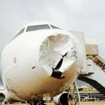 Avião da TAM é atingido por raio e faz pouso de urgência no Galeão