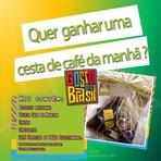 Quer Ganhar uma cesta de café da manhã, super delíciosa, da loja Gosto do Brasil?