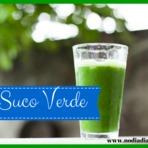 Suco verde delicioso