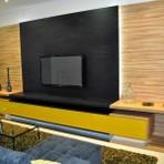 Belos móveis planejados para sala de tv