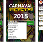 Acompanhe o Carnaval de qualquer lugar do Brasil com o app Carnaval 2015