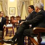 Wolney é recebido por Paulo Câmara e pede um encontro com os prefeitos da sigla em Pernambuco.