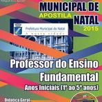 Apostila Concurso Prefeitura de Natal + CD GRÁTIS (Educador Infantil) Digital (PDF)