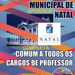 Apostila Concurso Prefeitura de Natal + CD GRÁTIS (Educador Infantil)