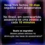 Nova York fechou 10 dias seguidos sem assassinatos