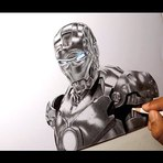 Desenhando Iron Man