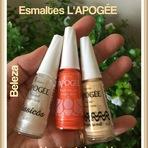 Blog da Estela: Esmaltes L'APOGÉE