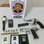 Bandidos se passando por policiais assaltam casa em Caruaru. Mas são pegos e descem para o Plácido de Souza