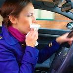 Saúde - A gripe e a condução são compatíveis?