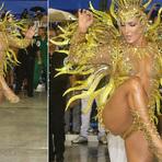 Veja Fotos! Claudia Leitte estreia no Carnaval do Rio vestida como o sol