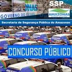 INSCRIÇÕES CONCURSO SSP AM - Edital Secretaria de Segurança Pública do Amazonas - 2015