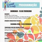 Serra da Tapuia: Confira a Programação do Carnaval na Serra