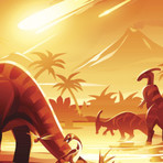 Asteroide que matou os dinos pode nao ter causado tempestade de fogo