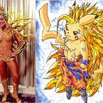 Claudia Leitte após Desfile vira Meme
