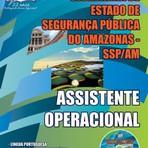 Apostila Concurso SSP/AM, Técnico de Nível Superior e Assistente Operacional