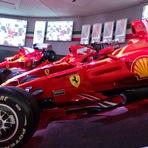 Museu da Ferrari em Maranello na Itália