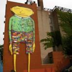 Pintura - A Arte dos Gêmeos grafiteiros