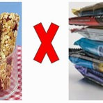 Barrinhas de Cereais ou de Proteínas ajudam a emagrecer e são realmente nutritivas?