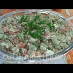 Receita de salada de arroz integral com atum