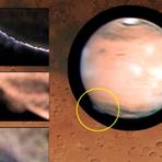 Névoa misteriosa na superfície de Marte intriga cientistas.