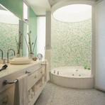 Como fazer uma decoração de banheiro pequeno