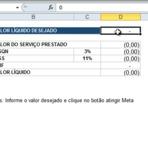 Tutorial: Automatizando Atingir Meta | ZePlanilha.com - Tutoriais, Planilhas e Dicas sobre Excel