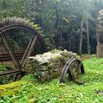 Moinho abandonado, França